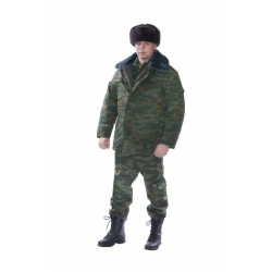 Костюм  КМФ с воротником из иск. меха
