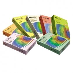 Бумага MAESTRO color А4, 80 г/м, 500 л. интенсив ш/к