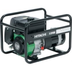Бензогенератор ''Hitachi'' E24SB 2100-2400вт, бак 3.8л, 4-х такт. двиг., 67Дб