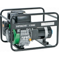 Бензогенератор ''Hitachi'' E35SB 2800-3500вт, бак 6л, 4-х такт. двиг., 70Дб