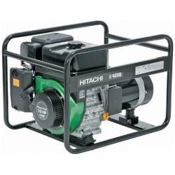 Бензогенератор ''Hitachi'' E42SB 3600-4200вт, бак 6л, 4-х такт. двиг., 70Дб