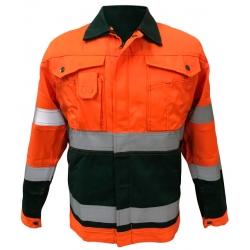 Сигнальная рабочая куртка TRANEMO Workwear (Финляндия)