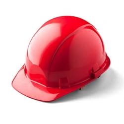 Каска красная защитная