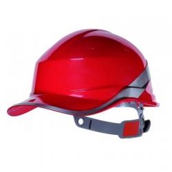 Каска красная защитная DIAMOND V